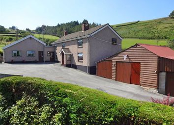 Thumbnail 4 bed detached house for sale in Gwerngau, Glynbrochan, Llanidloes, Powys