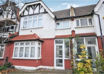 Thumbnail 3 bed terraced house for sale in Melrose Avenue, Norbury, London