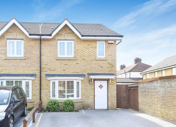 Thumbnail 3 bed semi-detached house for sale in Cranesbill Close, London