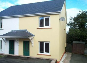Thumbnail 3 bedroom semi-detached house to rent in Tudor Gardens, Merlins Bridge, Haverfordwest