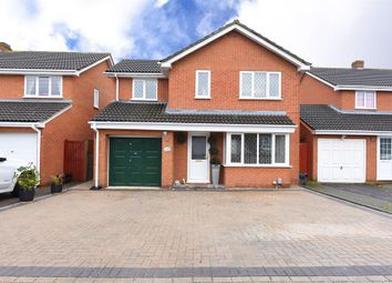 Thumbnail 4 bed detached house for sale in Doddington Close, Lower Earley