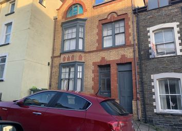 Thumbnail 1 bed flat to rent in Ground Floor Flat, 34 High Street, Aberystwyth