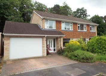 Thumbnail 3 bedroom semi-detached house for sale in Fern Drive, Church Crookham, Fleet