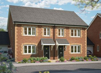 "Thumbnail 3 bedroom semi-detached house for sale in ""The Hazel"" at The Paddocks, Lower Road, Stalbridge, Sturminster Newton"