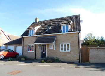 Thumbnail 3 bed detached house to rent in De Grey Close, New Costessey, Norwich