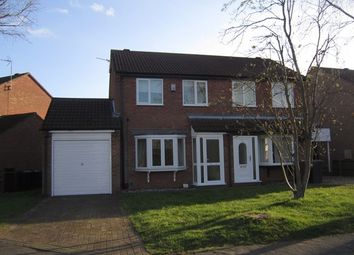 Thumbnail 3 bed semi-detached house to rent in Fulmar Road, Doddington Park, Lincoln