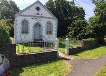 Thumbnail Commercial property for sale in Tirzah Baptist Chapel, Station Road, Llanmorlais, Swansea