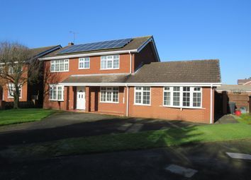 Thumbnail 5 bed detached house for sale in Plover Avenue, Darnhall, Winsford