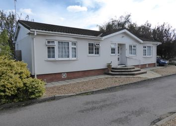 Thumbnail 2 bed mobile/park home for sale in Surrey Hills Park, Guildford Road, Normandy, Guildford, Surrey