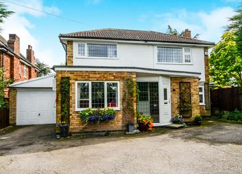 Thumbnail 3 bed detached house for sale in Faire Road, Glenfield, Leicester