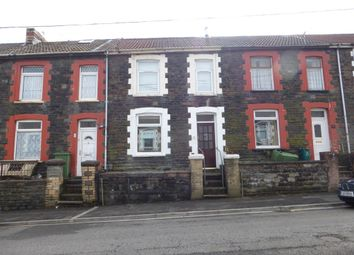Thumbnail 5 bedroom terraced house for sale in Tower Street, Treforest, Pontypridd