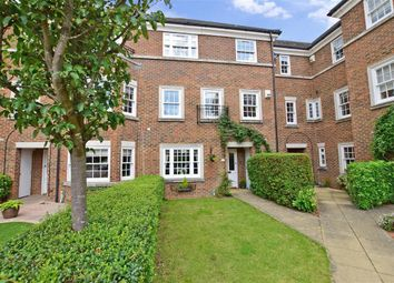 Thumbnail 4 bed town house for sale in Cleeve Court, Kings Hill, West Malling, Kent