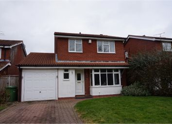 Thumbnail 4 bed detached house for sale in Thornhill Drive, Nuneaton