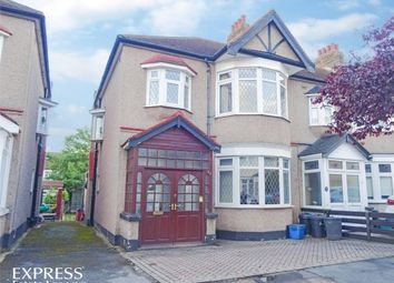 Thumbnail 3 bed end terrace house for sale in Campbell Avenue, Ilford, Essex