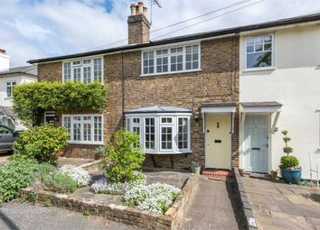 Thumbnail 2 bed terraced house for sale in Victoria Road, Weybridge, Surrey