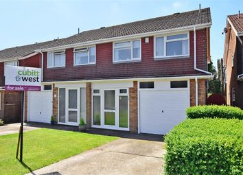 Thumbnail 3 bed semi-detached house for sale in Bretts Field, Peacehaven, East Sussex