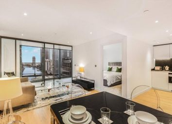 Thumbnail 1 bed flat to rent in Landmark Pinnacle, Canary Wharf