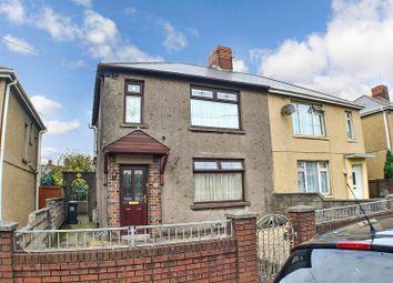Thumbnail 3 bed semi-detached house for sale in Saltoun Street, Margam, Port Talbot, Neath Port Talbot.