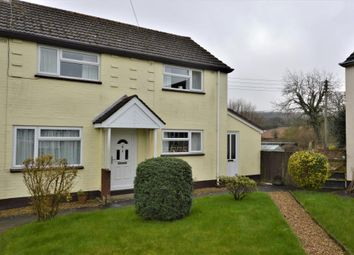 Thumbnail 3 bed semi-detached house for sale in Weston Close, Broadhembury, Honiton, Devon