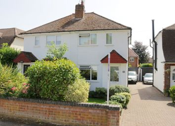 Thumbnail 2 bed semi-detached house for sale in Church Road, Byfleet, Surrey