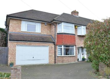 Thumbnail 5 bedroom end terrace house for sale in Sussex Gardens, Chessington