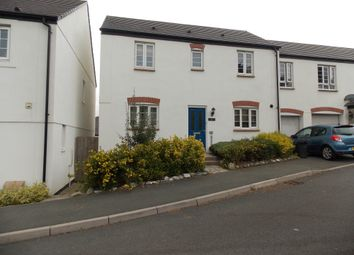 Thumbnail 3 bed semi-detached house to rent in Chygoose Drive, Truro
