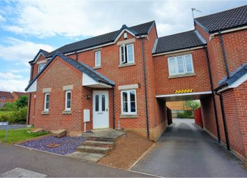 Thumbnail 2 bed terraced house for sale in Manrico Drive, Lincoln