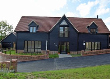 Thumbnail 4 bed detached house for sale in Jack's Field, Witnesham, Ipswich, Suffolk