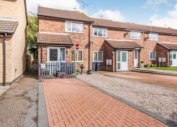 Thumbnail End terrace house for sale in Fern Close, Thurnby, Leicester