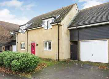 Thumbnail 4 bedroom link-detached house for sale in Manor Close, Farcet, Peterborough