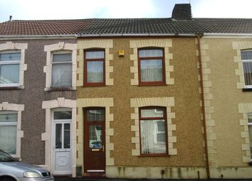 Thumbnail 3 bed terraced house for sale in Gelli Street, Port Tennant, Swansea, City & County Of Swansea.