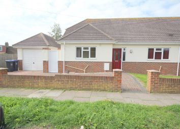 Thumbnail 3 bed bungalow to rent in Abbey Road, Sompting