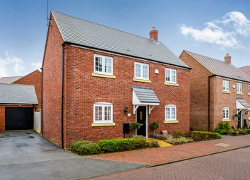 Thumbnail 4 bedroom detached house for sale in Grebe Drive, Leighton Buzzard