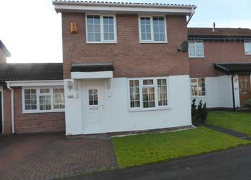 Thumbnail 3 bed detached house to rent in Ellesworth Close, Old Hall, Warrington