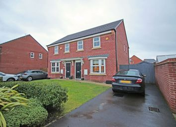 Thumbnail 3 bed semi-detached house for sale in Wren Way, Rochdale