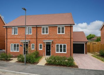 Thumbnail 4 bed semi-detached house for sale in Longhorn Gardens, Aston Clinton, Aylesbury