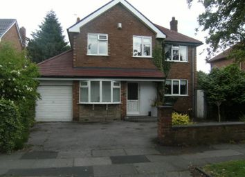 Thumbnail 4 bed detached house to rent in New Forest Road, Wythenshawe, Manchester