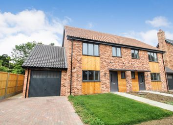 Thumbnail 4 bed semi-detached house to rent in Nightingale Close, Melton, Woodbridge