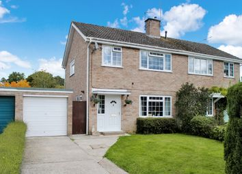 Thumbnail 3 bed semi-detached house for sale in Villiers Way, Enborne, Newbury
