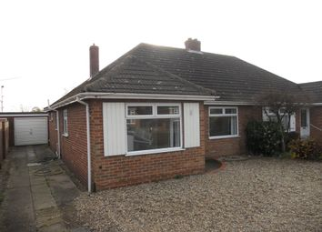 Thumbnail 3 bed semi-detached bungalow for sale in Woodview Road, Hellesdon, Norwich