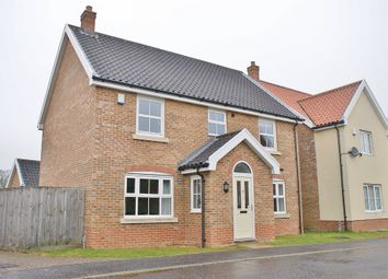 Thumbnail 4 bedroom detached house for sale in Mckee Drive, Tacolneston, Norwich