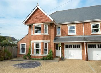 Thumbnail 6 bed semi-detached house for sale in York Road, Weybridge, Surrey