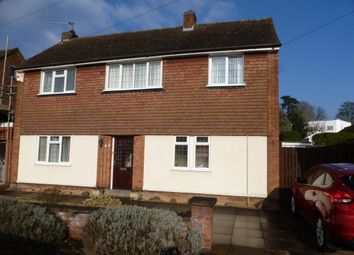 Thumbnail 3 bedroom detached house for sale in Granville Avenue, Oadby, Leicester