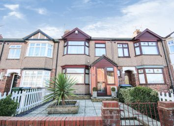 3 bed terraced house for sale in Clovelly Road, Coventry CV2