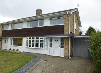 Thumbnail 3 bed semi-detached house for sale in Vanbrugh Drive, Badger Hill, York