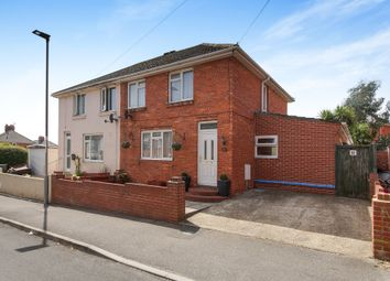 Thumbnail 3 bed semi-detached house for sale in Longcroft Road, Weymouth