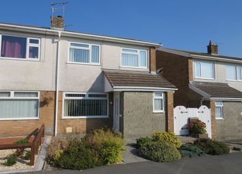 Thumbnail 3 bed semi-detached house for sale in Ash Court, Woodfieldside, Blackwood