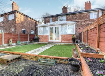 Thumbnail 3 bed semi-detached house for sale in Nantwich Road, Manchester, Greater Manchester, Uk