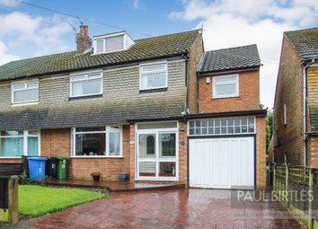 Thumbnail 4 bed semi-detached house for sale in Roslyn Avenue, Flixton