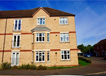 Thumbnail 2 bed flat for sale in 64 Darwin Crescent, Loughborough